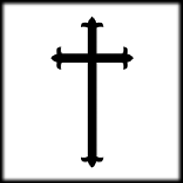 black%20christian%20cross%20png