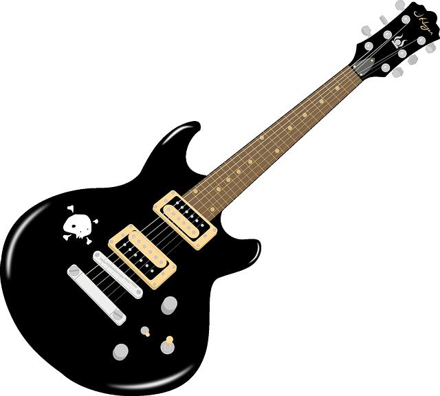black electric guitar clip art clipart panda free clipart images. Black Bedroom Furniture Sets. Home Design Ideas
