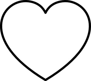 Black Heart Outlines | Clipart Panda - Free Clipart Images