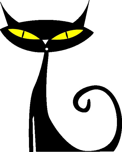 black-kitten-clipart-black-cat-clipartblack-and-white-stick-cat ...