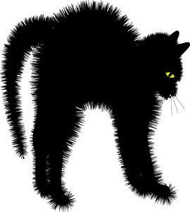 black kitten clipart clipart panda free clipart images scared clip art face scary clipart