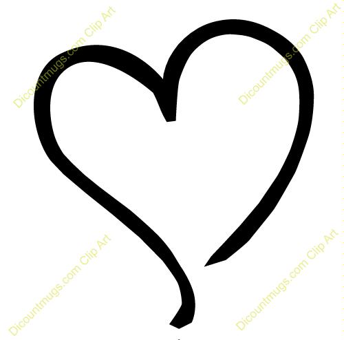 Clip Art Heart Outline Clipart clip art heart outline clipart panda free images