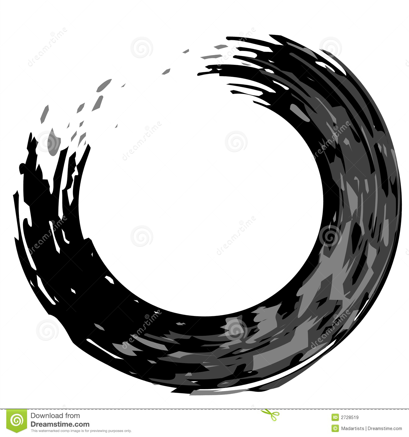 Hypnosis Circle Png Black Circle Png Zen Circle