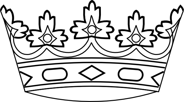 Medieval King Crown Clip Art