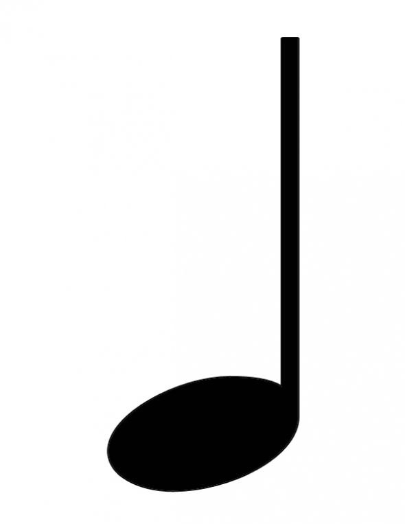 #1, What is a quarter note? | Clipart Panda - Free Clipart ...