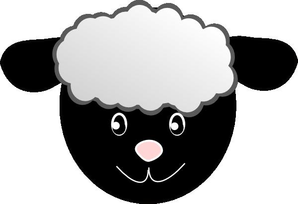 Black sheep clipart black happy sheep hi png