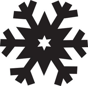 black%20snowflake%20clipart