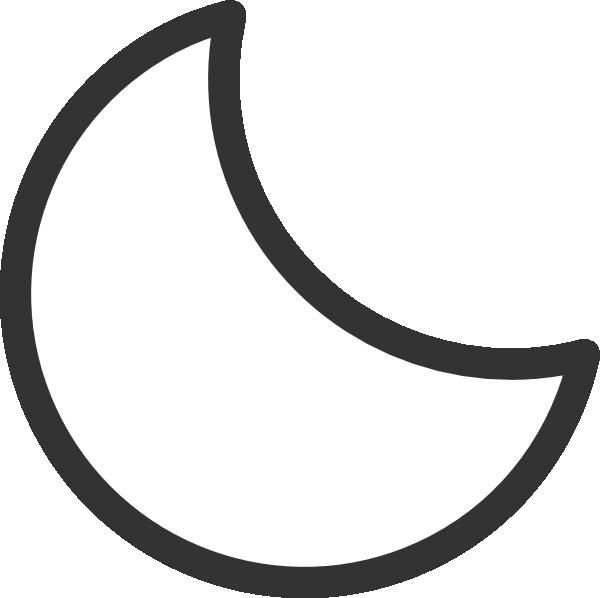 moon black and white clip art clipart panda free clipart images rh clipartpanda com clip art moon face clip art monday