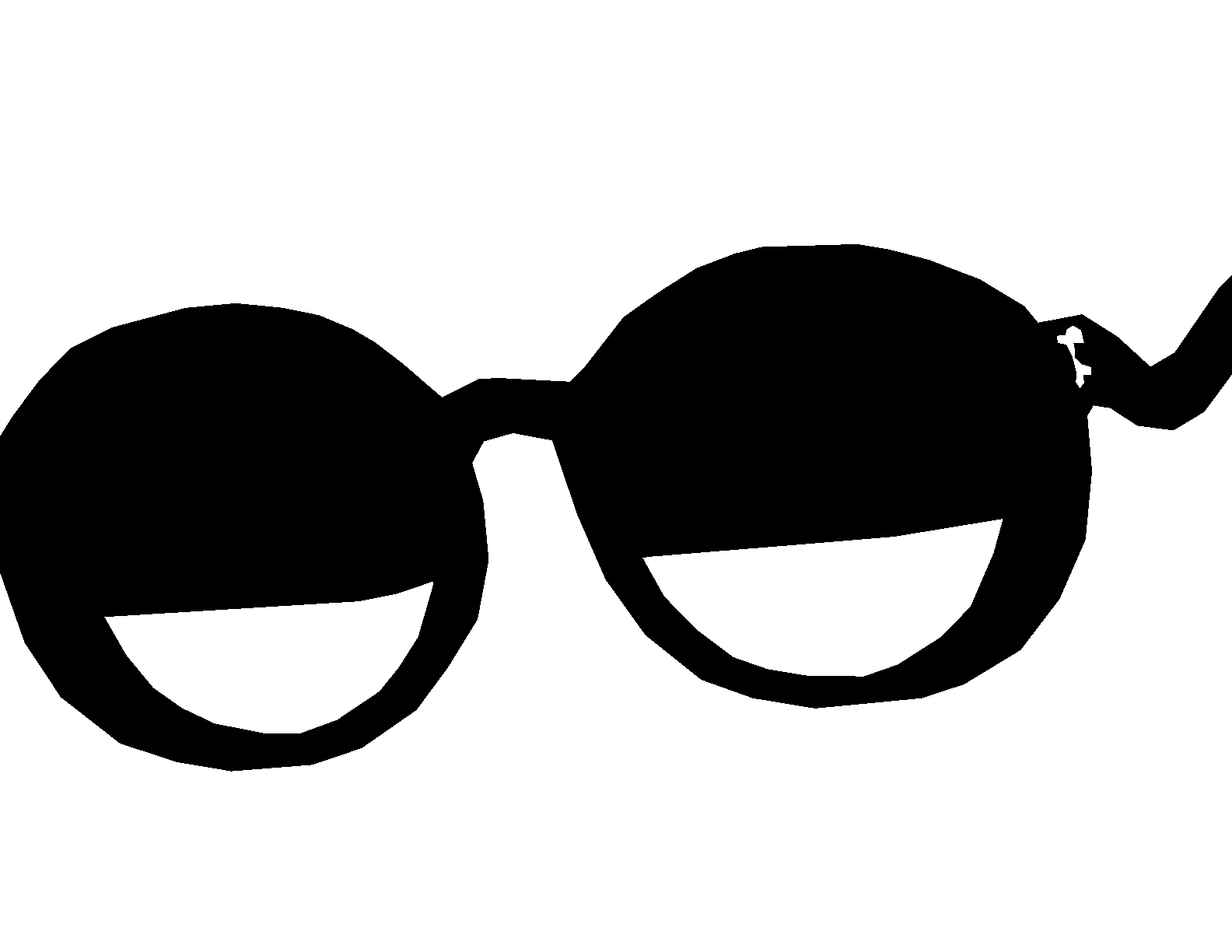 Sunglasses Clipart Black And White Clipart Info