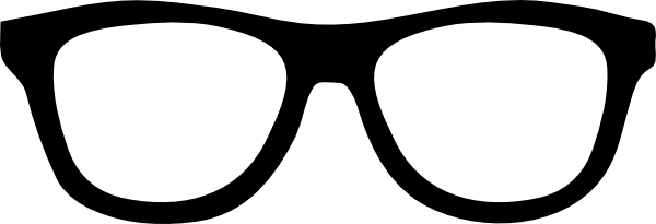 Funny Cartoon Man With Thick Glasses