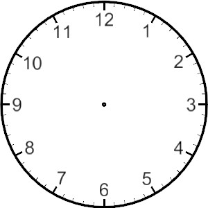 Blank Clock Clipart  Clipart Panda  Free Clipart Images
