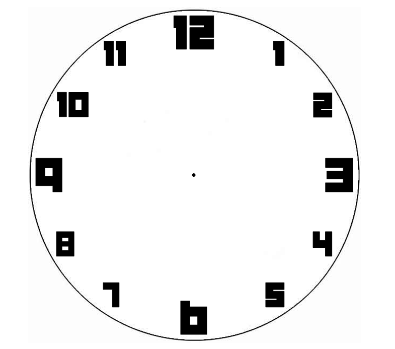Blank Clock Clipart   Clipart Panda - Free Clipart Images