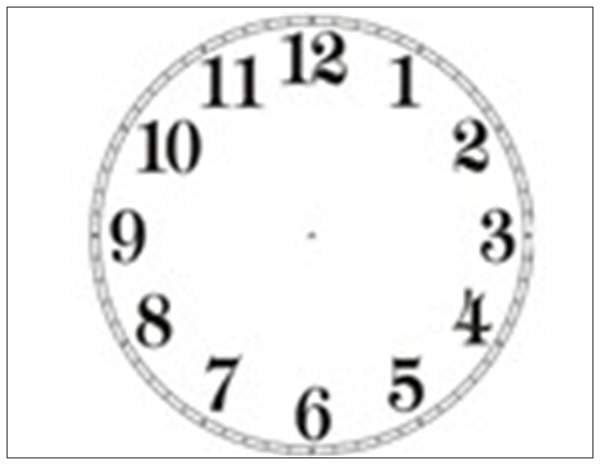 This is an image of Canny Printable Clock Face With Hands