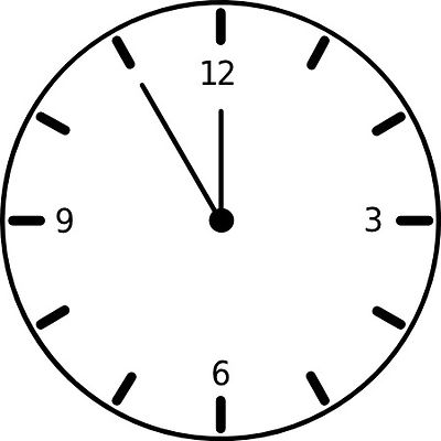 Clock Clipart Black And White | Clipart Panda - Free ...