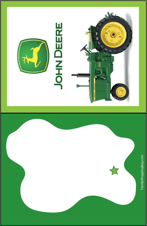 Tractor Invitations was adorable invitations ideas