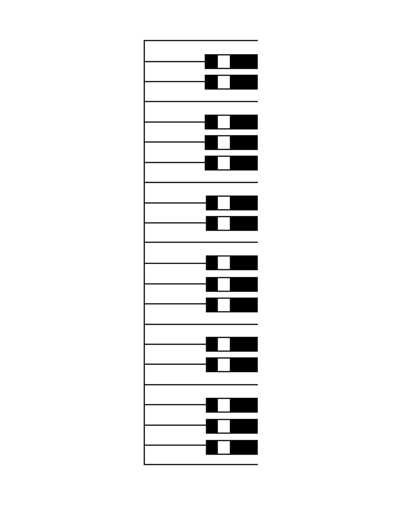 Blank piano keyboard worksheet clipart panda free clipart images blank microscope diagram blank piano keyboard worksheet ccuart Image collections