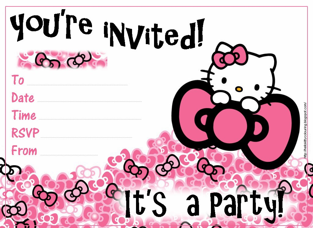 Blank Pizza Party Invitations – Pizza Party Invitation Template Free