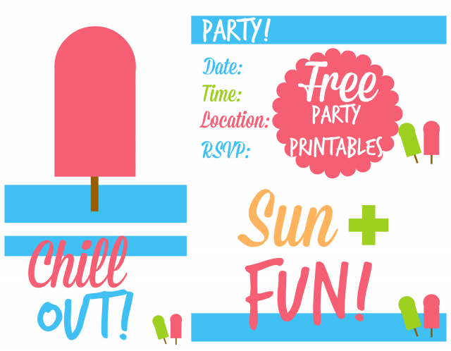 Free Pizza Invitation orderecigsjuiceinfo – Free Summer Party Invitation Templates