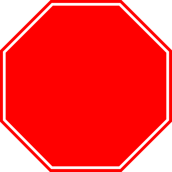 Blank stop sign clipart clipart panda free clipart images for Stop sign template