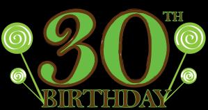 happy 30th birthday clip art clipart panda free clipart images rh clipartpanda com 30th birthday clipart 30th birthday clipart
