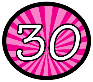 30th Birthday Clip Art   Clipart Panda - Free Clipart Images