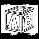 block clip art letters clipart panda free clipart images