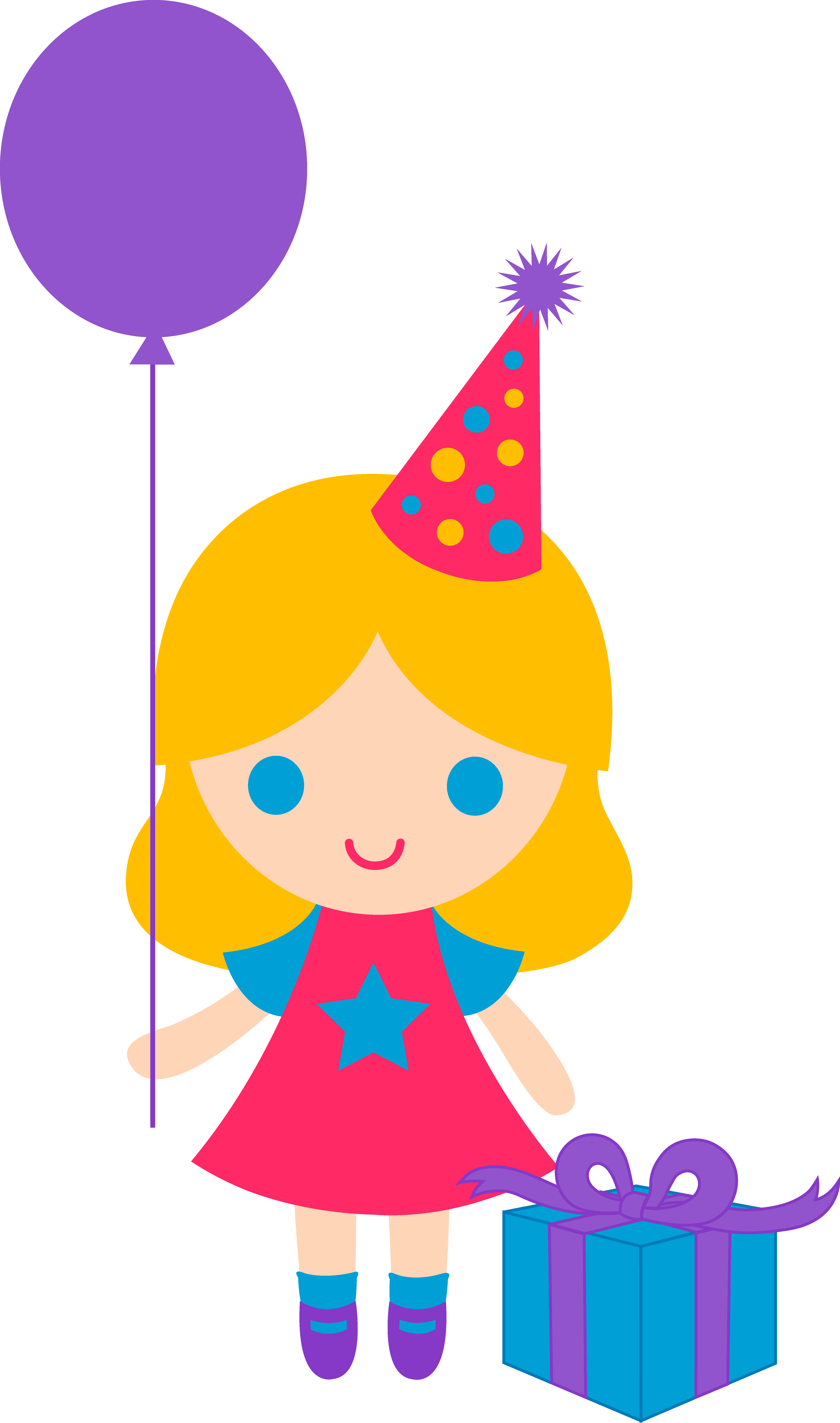 cute birthday girl clip art clipart panda free clipart images rh clipartpanda com birthday clip art animals birthday clipart animations