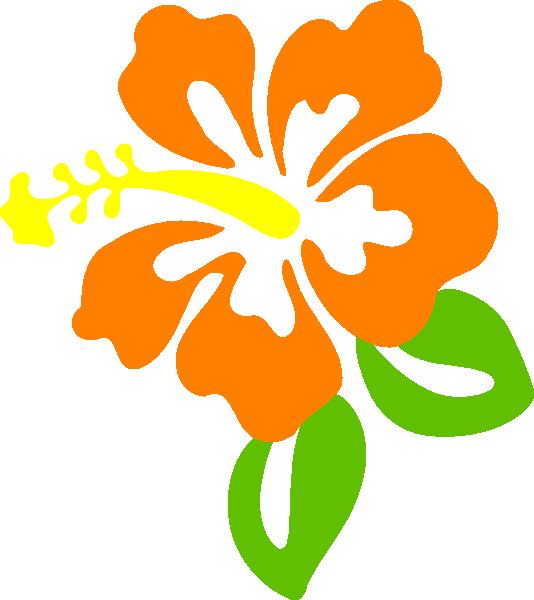 Orange blossom clip art