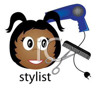 Hairstylist Clipart | Joy Studio Design Gallery - Best Design