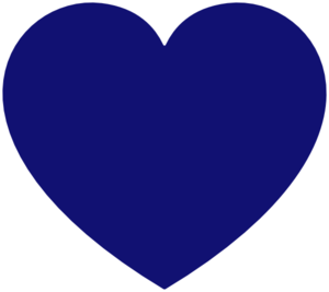 Heart blue. Clipart panda free images
