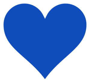 Image result for blue heart