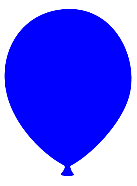 Blue Balloon Clipart | Clipart Panda - Free Clipart Images