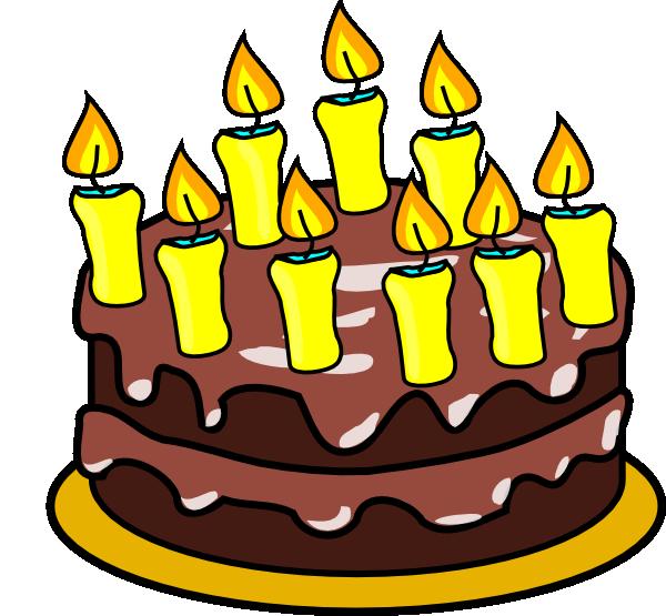 Cartoon Th Birthday Cake Clip Art Images