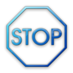 Blue Bus Stop Sign | Clipart Panda - Free Clipart Images