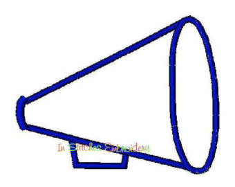 Blue Cheer Megaphone | Clipart Panda - Free Clipart Images