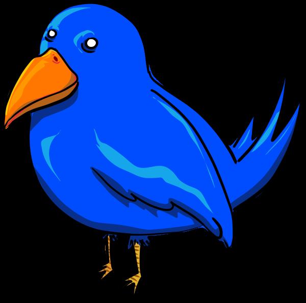 Bird blue. Clipart panda free images