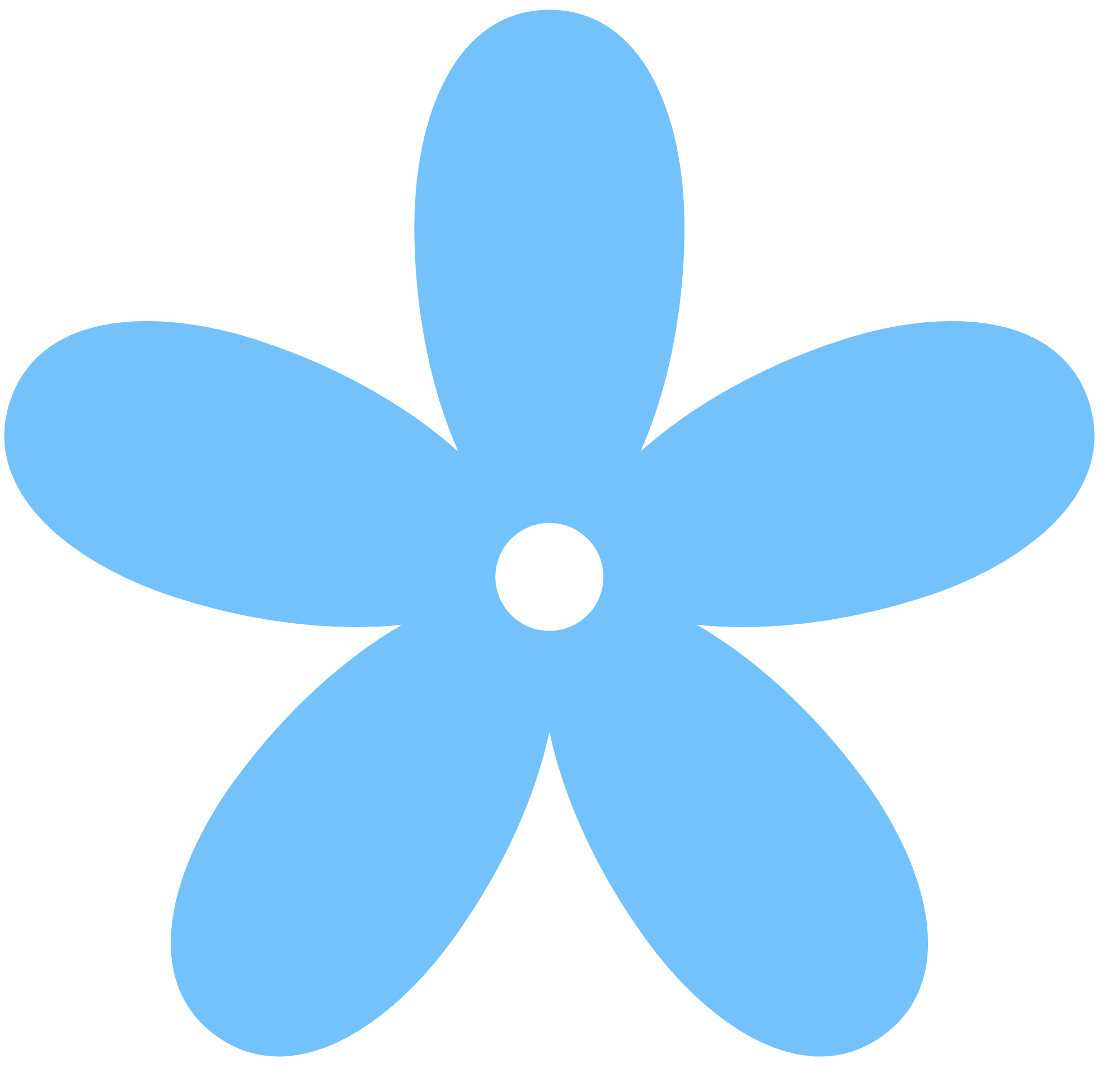Blue Flower Border Clip Art | Clipart Panda - Free Clipart ...