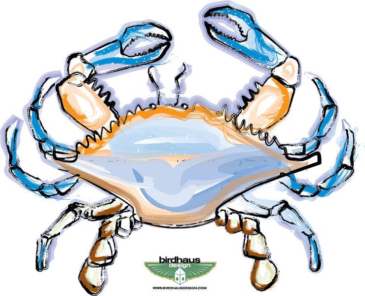 Blue Crab Logo | Clipart Panda - Free Clipart Images