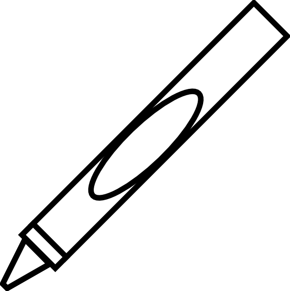 Blue Crayon Clip Art Clipart Panda Free Clipart Images