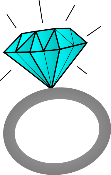 Clipart Of Diamond Ring