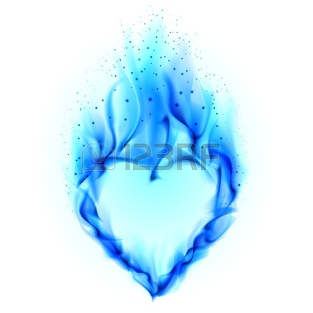 Blue Flame White Background | Clipart Panda - Free Clipart ...