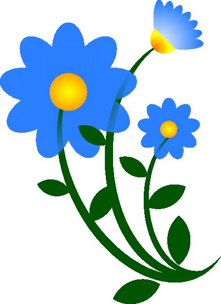 blue flower border clip art clipart panda free clipart images rh clipartpanda com navy blue flower clip art blue lotus flower clip art