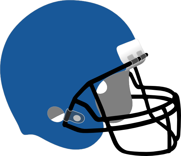 Blue Football Helmet Clipart | Clipart Panda - Free Clipart Images