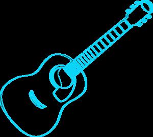 Blue Guitar Clipart | Clipart Panda - Free Clipart Images