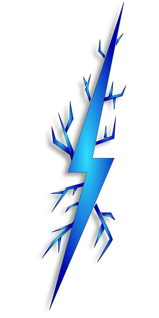 Blue Lighting Bolt | Clipart Panda - Free Clipart Images