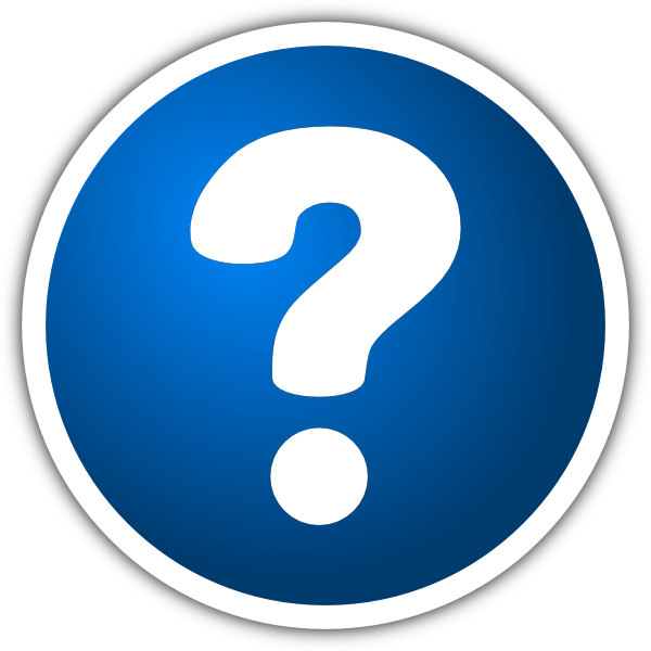 Blue Question Mark Icon | Clipart Panda - Free Clipart Images