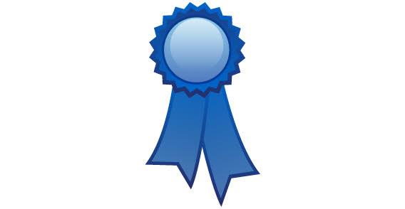 Blue Ribbon Picture blue ribbon clipart