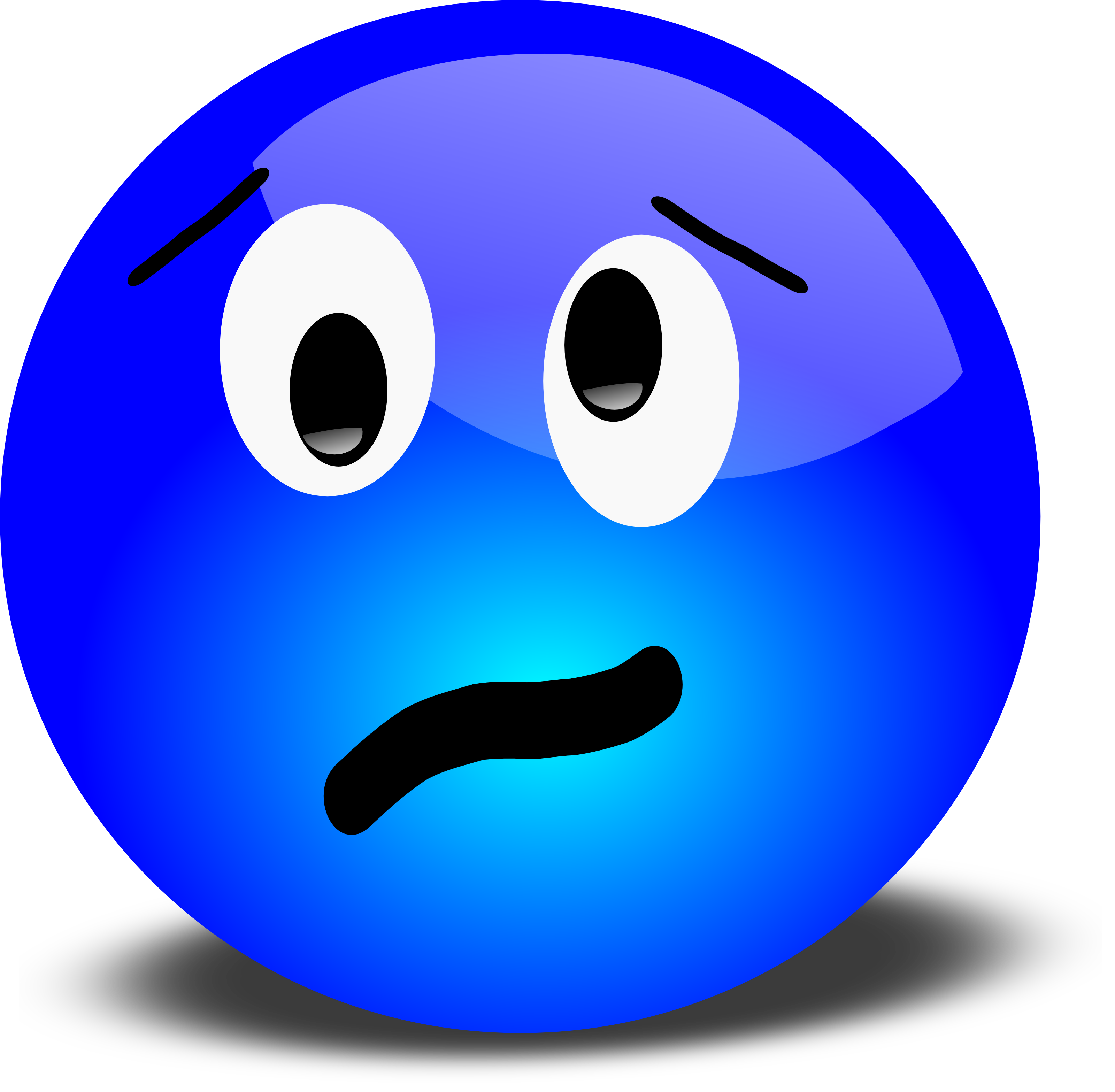 Blue Smiley Face Png | Clipart Panda - Free Clipart Images