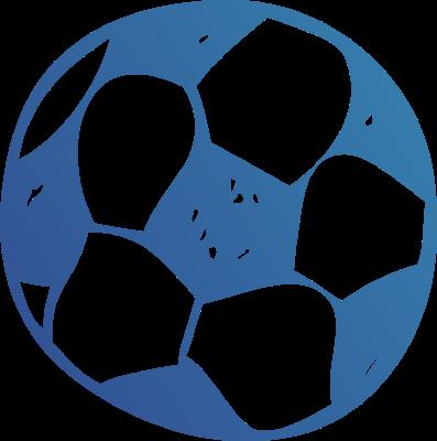 Soccer blue. Ball clip art clipart