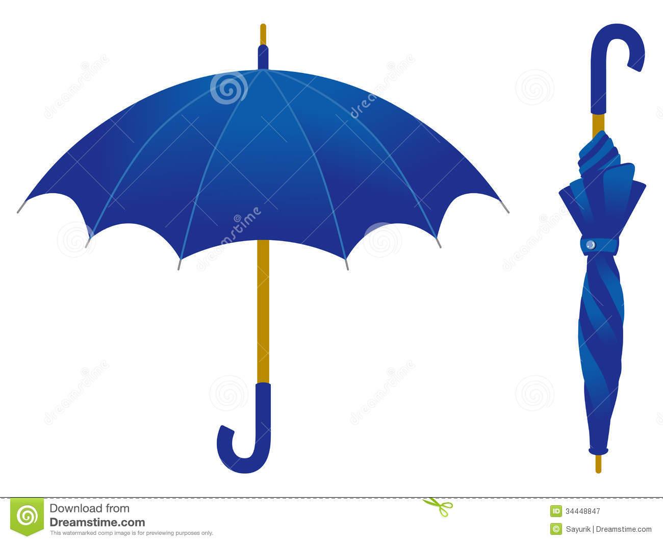 Blue Umbrella Clipart | Clipart Panda - Free Clipart Images